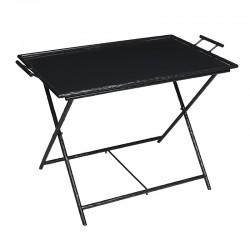Table Marlotte Métal Noire