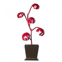 Lampe Philodendon Rouge