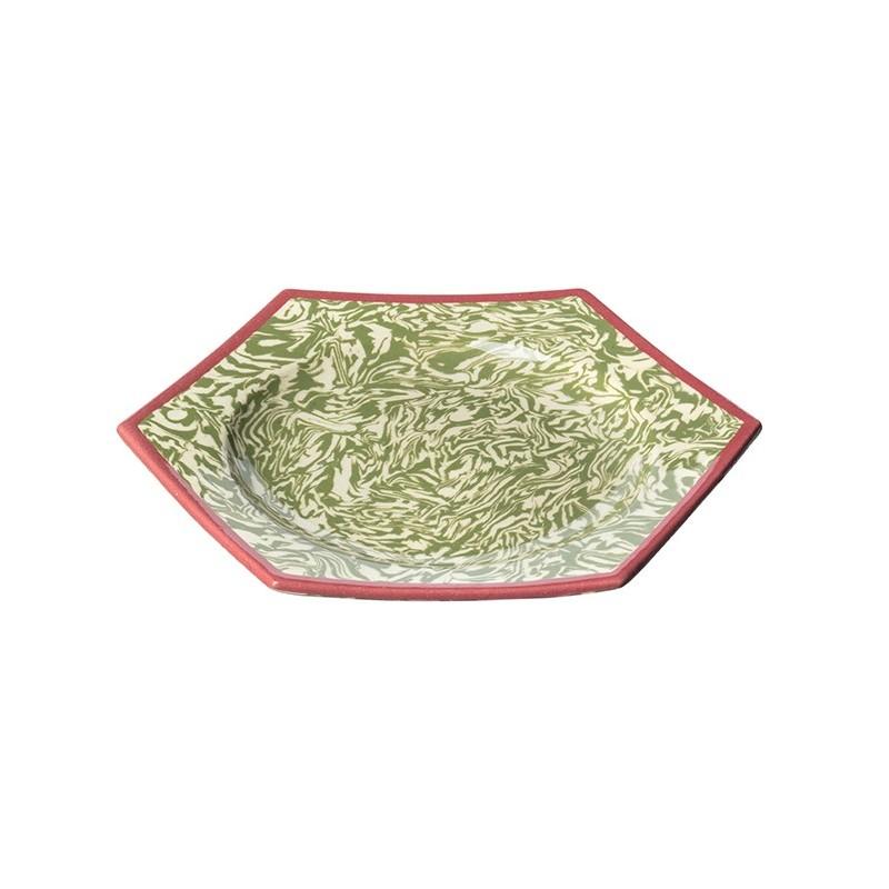 Octogonal Dessert Plates