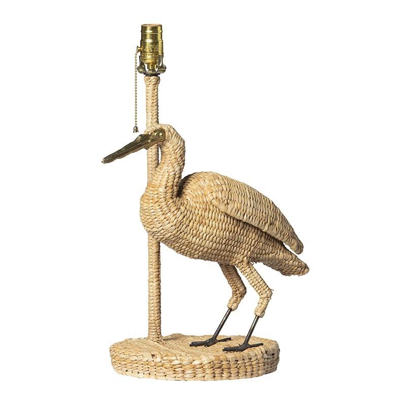 Low Heron Lamp