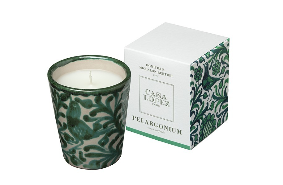 Bougie Parfumée Pelargonium