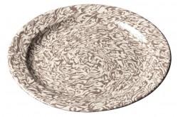 Assiette Terre Melée Beige/ecru