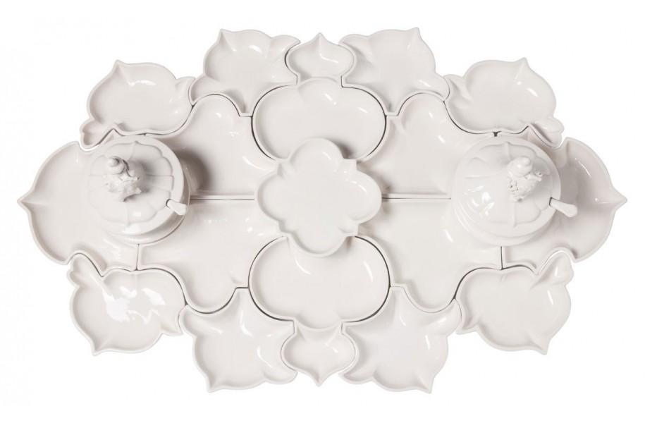 Ceramic Puzzle Dish - 21 pieces