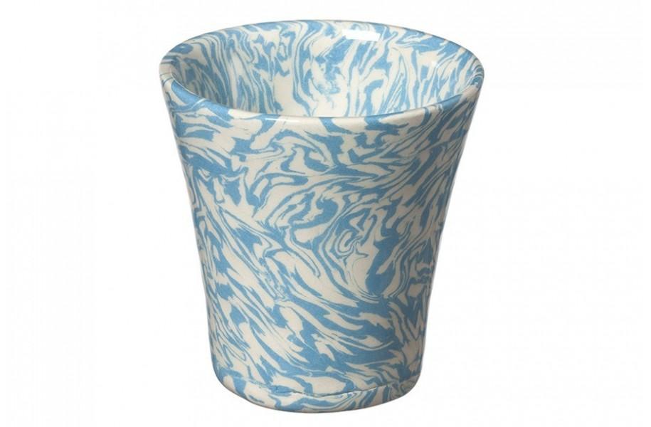 Tasse Expresso Tm Vert Bleu Ecru