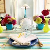 #napkins @casa__lopez and beautiful #hialta #stripe @f.potisek #available exclusively @tissuschoisisparcasalopez