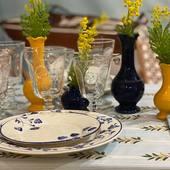 #joyful #table @edithmezard @casa__lopez #popupstore #clover & #mimosa #summer #provence